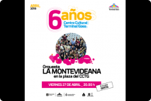El Centro Cultural Terminal Goes festeja sus 6 años