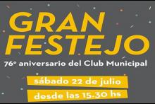 76° aniversario del Club Municipal