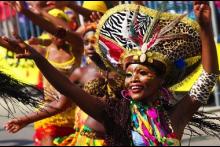 Colombia de Carnaval en Uruguay