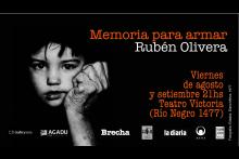 Memoria para armar, Rubén Olivera