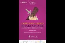 Concierto Lírico Shakespeare