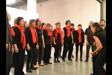 Coro del CCE en Patios del Cabildo de Montevideo