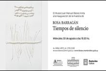 """Exposición: """"Tiempos de silencio"""""""