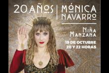Mónica Navarro 20 años - Niña Manzana