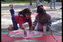 Actividad de Pintando las veredas de tu ciudad