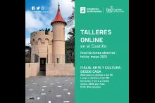 COMIENZAN LOS TALLERES ONLINE EN EL CASTILLO