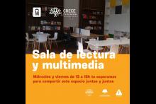 Sala de lectura y multimedia