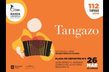 Tangazo en la Plza. de Deportes Nº4