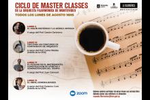 CICLO DE MASTER CLASSES