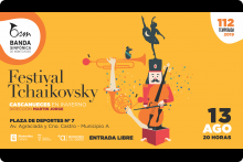 Festival Tchaikosvky - Plaza de Deportes Nº 7