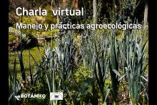 Charla Virtual sobre Manejo y prácticas agroecológicas