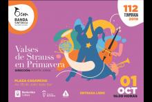 Ciclo de Primavera - Valses de Strauss en Primavera - Plaza Cagancha
