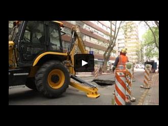 Reparación de pavimento en Benito Blanco