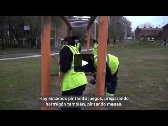 Plan ABC cuadrillas de trabajo - Plaza Deportes Punta de Rieles