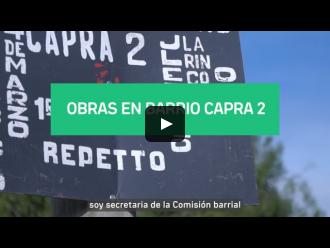 Obras Barrio Capra 2 - Plan ABC