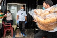 Entrega de panes en el marco del Plan ABC a ollas populares del Centro de Industriales Panderos del Uruguay