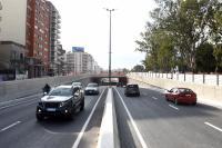Habilitación del túnel de Av. Italia en ambos sentidos