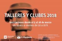 Talleres y clubes en El Florencio