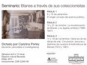 Seminario: Blanes a través de sus coleccionistas