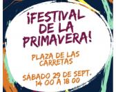 Festival de la primavera en Plaza de las Carretas