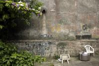 El patio de Tere. Barrio Goes, 2019. Foto: Sofía González