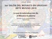 3er Salón del Mosaico en Uruguay. Arte Musivo 2019