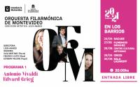 Orquesta Filarmónica de Montevideo - Temporada 2021 en los barrios