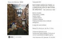 Nociones básicas para la conservación de Material de Archivo
