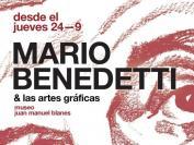 Mario Benedetti y las artes gráficas